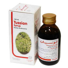 شربت توسیان اطفال گل دارو - Tussian Child Cough Syrup