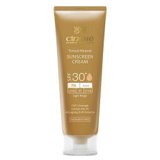 کرم ضد آفتاب مینرال SPF30 (بژ روشن) سینره - Cinere Sunscreen Spf 30 Lighte Beige